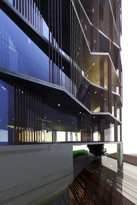 G Hotel. K2LE Architects