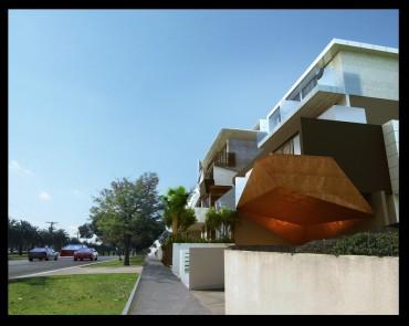 Trisan Ten 46. Clarke Hopkins Clarke Architects