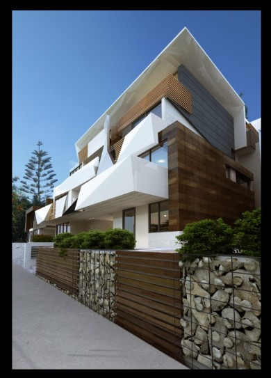 Trisand 1042 Mt Alexandra Road. Clarke Hopkins Clarke Architects